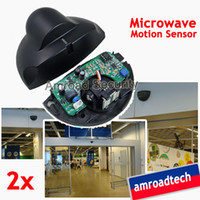2sets 24. 125GHz Universal Automatic Door Microwave Motion Se...