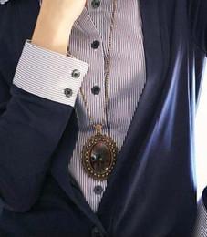 Wholesale Antique amber stones lace elliptic Necklace E4404