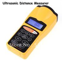 15 x 7 x 3cm area measurer - Durable Ultrasonic Distance Measurer Area Volum Meter Laser Designator LCD Night Light Free shippi