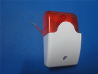 Fire Alarm   Wholesale - Alarm Bell Box (new wired siren) with red LED flash for home Wireless alarm system S164
