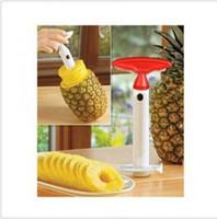 Wholesale 5pcs Fruit Pineapple Corer Slicer Peeler Cutter Knife Parer Kitchen Easy Tool Machine Free Shipp