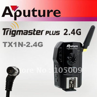 Wholesale aputure Trigmaster Plus TX1N Wireless Flash Trigger for nikon D300S D3X D3 D700 D300 D200