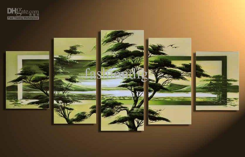 2017 wall scenery landscape oil painting canva modern home