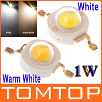 Wholesale 1W High Power White Warm White Led Chip Lamp Beads LM Bulb Light H8883WW W