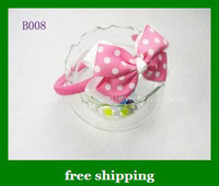 Wholesale Bows Headdress Flowers Headband hot girls Ornaments Hoop Bow Hair Bands women gifts
