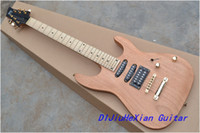 Wholesale New natural color pickups Chinese character OEM Electric Guitar