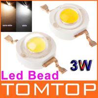 Bianco/bianco Caldo 3W ad Alta Potenza del Led Lampade Perle 240-300LM Led Chip Perle di Illuminazione a Spedizione Gratuita H8895Z