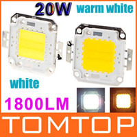 Wholesale High Power LM W LED Lamp Bulb Light Warm white White LED Chip Lighting H8900Z