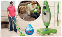 Wholesale Household home floor H2O Mop X5 Steamer TV in Steam Mop Cleaner steam MOP X5 EU UK plug