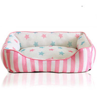 luxury pet products - New Stripe Pet Dog Cat Bed House Sofa Nest Warm Soft Beds Sleep Luxury Pet Products x40cm V3700