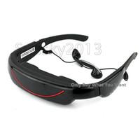 Wholesale Portable Eyewear quot Widescreen Multimedia Player Portable Video Glasses Virtual Theatre GB