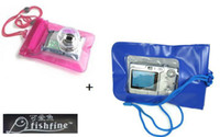 Wholesale 10 Waterproof Pouch For Digital Camera Swimming Beach Waterproof Case Bag