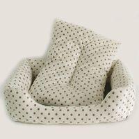 Wholesale New Pink Star Pet Dog Cat Bed House Sofa Nest Warm Soft Beds Sleep Plush Luxury Pet Products cm