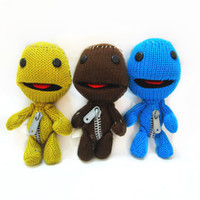 Wholesale High quality Little Big Planet Sock Monkey Stuffed Doll Toys Inch