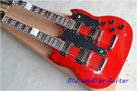 Cheap Wholesale - double head SG Electric Guitar HOT SALE