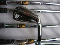 Wholesale golf clubs irons set pw Rifle project X6 steel shaft RH