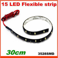 Wholesale 10pcs SMD LED Flexible Strip LED car drl Light