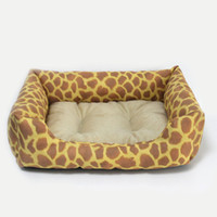 luxury pet products - New Leopard Pet Dog Cat Bed House Sofa Nest Warm Soft Beds Sleep Plush Luxury Pet Products cm
