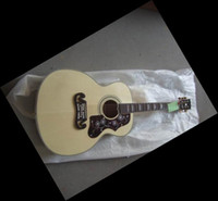 Wholesale HOT Acoustic Guitar Beige Strings Acoustic Guitar With Hardcase Free Shippin121218