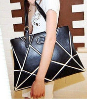 Wholesale 2012 new stitching shoulder bag woman bag M18