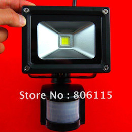 10W 85-265V PIR High Power Flash Landscape Lighting PIR LED Wash Flood Light PIR Floodlight Outdoor Lamp