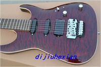 Wholesale New Arrival Red wine stripe Flame maple top pickups Suhr OEM Electric Guitar in stock
