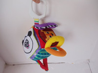 1pcs Livraison Gratuite Lamaze Peekaboo Tissu Blocs Bébé Toy Bell Building Blocks Surprise Cube Toys