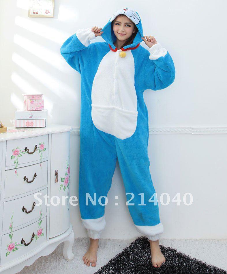 JUEGO PARA OTAKUS - Página 2 Doraemon-animal-costume-kigurumi-pajamas