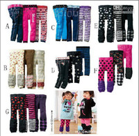 Christmas Girl 1T-3T  New Arrive Nissen PP Pants Kids Leggings Corduroy Pants Toddlers Tights One pack (4 Size x 3 Style)