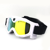 Wholesale THB029 HD720P MP Video Camera Snow Goggles White Black