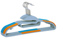 Wholesale Plastics clothes rack Anti skidding hanger Dry wet clothes rack Magic clothes hanger