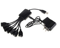 Wholesale 118pcs MPS High Speed USB port Cable Hub For PC Black AC09