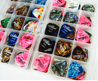 Wholesale Specials high end paddles celluloid guitar picks thickness of mm
