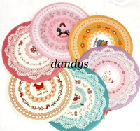 Wholesale NEW lace flowers print round mouse pad mouse mat Place mats Computer mouse