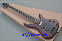 Wholesale 2013 New Arrival Navy Red strings OEM Electric Bass Guitar high quality