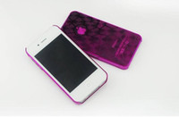 Plastic plastic cube - For Iphone s g case D three dimensional Water cube design Hard plastic back cover case on sale