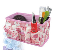 Wholesale HOT SALE Non woven fabrics Storage Boxes home storage for cosmetics jewelry
