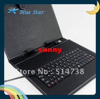 Wholesale 9 inch Android Tablet pc Keyboard Case combo Leather Case Keyboard for Inch Tablets