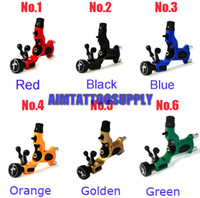 Wholesale New Dragonfly rotary tattoo machine high quality colours