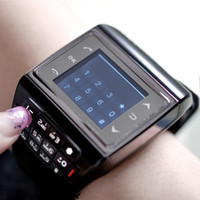 Wholesale Avatar GSM Quadband Voice Dialing Watch Cell Phone Unlocked Bluetooth inch Touch Screen