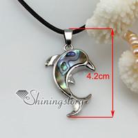 dolphin shell colgante de la madre de la perla de la joyería de concha de abulón joyas Mop6032 hoteles de china de la joyería de la moda