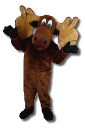 Wholesale Cartoon Moose Mascot costumes CK065 Free S H