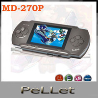 Wholesale Video game machine Console portable with many classical games handheld SEGA bit MD P free ship
