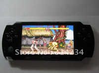 Wholesale 4 quot touch screen D PSP flash game player GB HDMI P Handheld Game Player