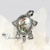 Wholesale seaturtle shell ring shell jewelry Handmade jewelry rings fashion jewelry
