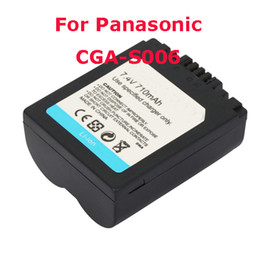Wholesale Camera Li ion Battery For Panasonic CGA S006 V mAh New Ship From USA D00582