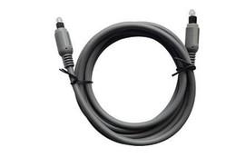 50pcs/lot 6 FT DIGITAL AUDIO OPTICAL FIBER OPTIC TOSLINK CABLE Free Shipping