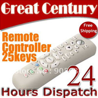 Wholesale Multifunction Universal DVD media remote controller for xbox keys