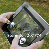 Wholesale Joystick For Ipad game IT Joystick Arcade Game Stick Controller for iPad amp Android Tablets free ship