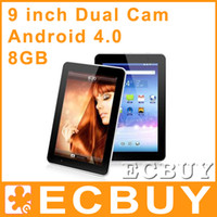 Wholesale 9 inch Dual camera Android Tablet PC EPAD T902 GB GHz G WiFi P Allwinner A13 Xmas